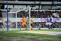 Leeds United's Stuart Dallas scores his side's second goal <br /> <br /> Photographer Hannah Fountain/CameraSport<br /> <br /> The EFL Sky Bet Championship - Ipswich Town v Leeds United - Sunday 5th May 2019 - Portman Road - Ipswich<br /> <br /> World Copyright © 2019 CameraSport. All rights reserved. 43 Linden Ave. Countesthorpe. Leicester. England. LE8 5PG - Tel: +44 (0) 116 277 4147 - admin@camerasport.com - www.camerasport.com