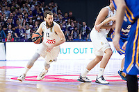 Real Madrid's  Sergio Rodríguez during Euroleague match at Barclaycard Center in Madrid. April 07, 2016. (ALTERPHOTOS/Borja B.Hojas) /NortePhoto
