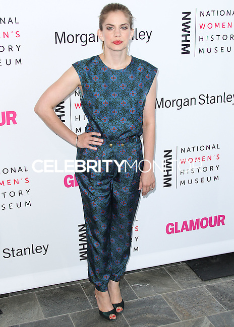 LOS ANGELES, CA, USA - AUGUST 23: Anna Chlumsky arrives at The National Women's History Museum and Glamour Magazine's 3rd Annual Women Making History Brunch held at the Skirball Cultural Center on August 23, 2014 in Los Angeles, California, United States. (Photo by Xavier Collin/Celebrity Monitor)