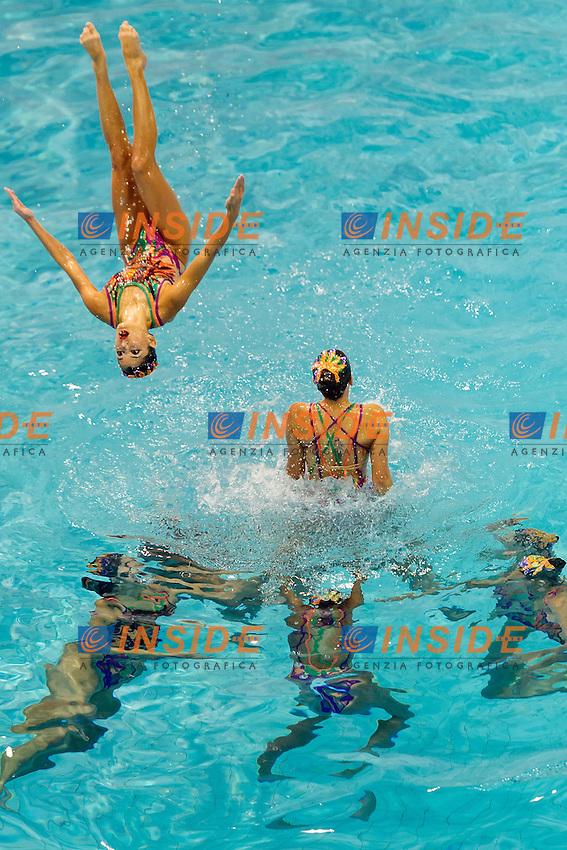 Egypt EGY<br /> 8th FINA Synchronised Swimming World Trophy <br /> Day02 Nov. 30 -  Team Free routine<br /> Mexico City 29 November - 1 December<br /> Photo G.Scala/Deepbluemedia.eu/Insidefoto