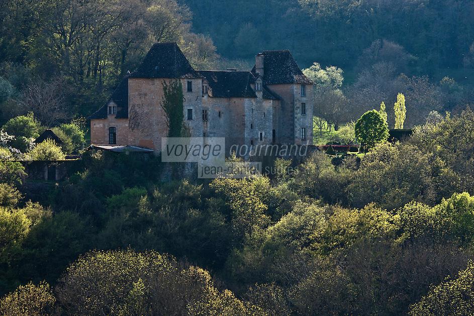 Europe/Europe/France/Midi-Pyrénées/46/Lot/Env de Saint-Médard-de-Presque: Manoir