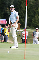 Wade Ormsby (AUS) in action on the 17th hole during third round at the Omega European Masters, Golf Club Crans-sur-Sierre, Crans-Montana, Valais, Switzerland. 31/08/19.<br /> Picture Stefano DiMaria / Golffile.ie<br /> <br /> All photo usage must carry mandatory copyright credit (© Golffile | Stefano DiMaria)