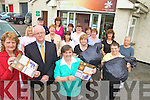 CARING: Volunteers with Kingdom Care in Tralee who are holding a series of countywide recycling fundraisers on Saturday, including front l-r: Elizabeth Roche, Martin Hogan (President, Tralee Rotary Club), Mary Curran (Chairperson).