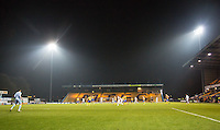 General view of play during the The Checkatrade Trophy  Quarter Final match between Mansfield Town and Wycombe Wanderers at the One Call Stadium, Mansfield, England on 24 January 2017. Photo by Andy Rowland.