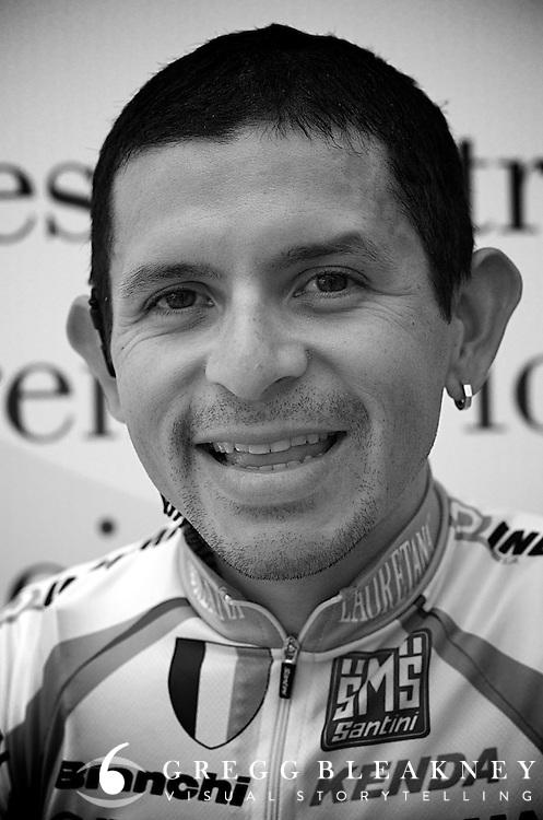 Jose Rujano Portrait 2011 Giro d'Italia