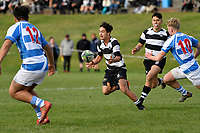 College Rugby - St Patrick's College Silverstream v New Plymouth Boys' High School at St Patrick's College Silverstream, Upper Hutt, New Zealand on Saturday 11 July 2020. <br /> Photo by Masanori Udagawa. <br /> www.photowellington.photoshelter.com