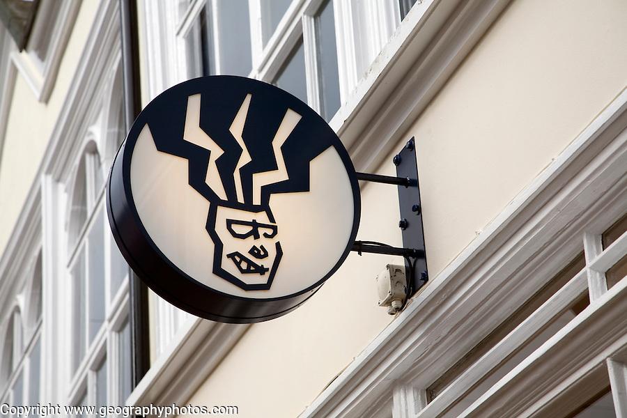 FatFace shop sign logo