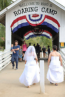 Kristen Werth and Renee Bradshaw's Felton Guild Wedding photographs.