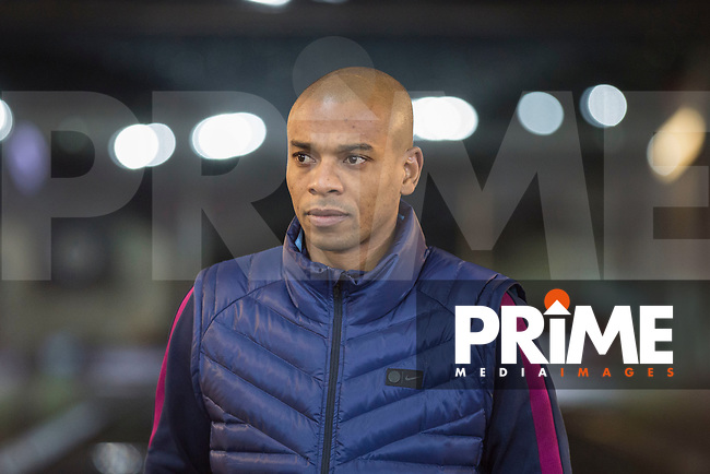 Fernandinho of Manchester City arrives for the EPL - Premier League match between Swansea City and Manchester City at the Liberty Stadium, Swansea, Wales on 13 December 2017. Photo by Mark  Hawkins / PRiME Media Images.