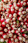Outdoor Market, Radishes, Calvisson, Southern France