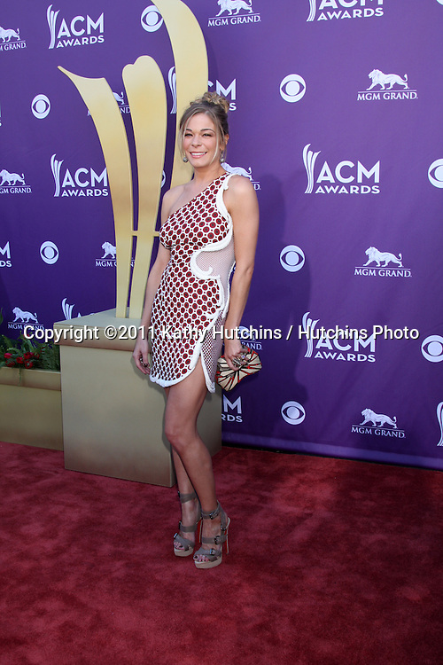 LAS VEGAS - APR 1:  Leann Rimes arrives at the 2012 Academy of Country Music Awards at MGM Grand Garden Arena on April 1, 2010 in Las Vegas, NV.