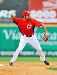 7 March 2012: Washington Nationals infielder Anthony Rendon in action against the St. Louis Cardinals at Space Coast Stadium in Viera, Florida. The teams battled to a 3-3 tie in Grapefruit League Spring Training action. Mandatory Credit: Ed Wolfstein Photo