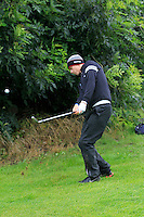 Declan Loftus (Castlebar) on the 2nd during round 1 of The Mullingar Scratch Cup in Mullingar Golf Club on Sunday 3rd August 2014.<br /> Picture:  Thos Caffrey / www.golffile.ie