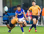 Thailand plays Chinese Taipei during the17th Asian Games 2014 Rugby Mens Sevens tournament on October 02, 2014 at the Namdong Asiad Rugby Field in Incheon, South Korea. Photo by Alan Siu / Power Sport Images