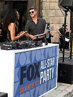 BEVERLY HILLS - AUGUST 7: Robin Thicke attends the FOX 2019 Summer TCA All-Star Party on New York Street on the FOX Studios lot on August 7, 2019 in Los Angeles, California. (Photo by Vince Bucci/FOX/PictureGroup)
