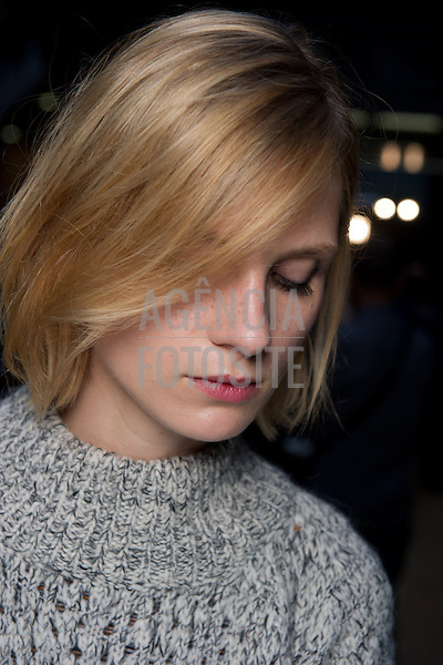 Londres sep/2013 - Backstage de Paul Smith na Semana de moda de Londres - Verao 2014. <br /> Foto: FOTOSITE