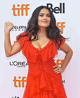 08 September 2018 - Toronto, Ontario, Canada - Salma Hayek. &quot;The Hummingbird Project&quot; Premiere - 2018 Toronto International Film Festival held at the Princess of Wales Theatre. <br /> CAP/ADM/BPC<br /> &copy;BPC/ADM/Capital Pictures