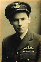 Bravery medals awarded to a WWII pilot who later disappeared in a mysterious flying accident.