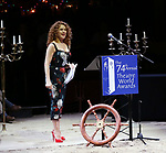 Bernadette Peters during the 74th Annual Theatre World Awards at Circle in the Square on June 4, 2018 in New York City.