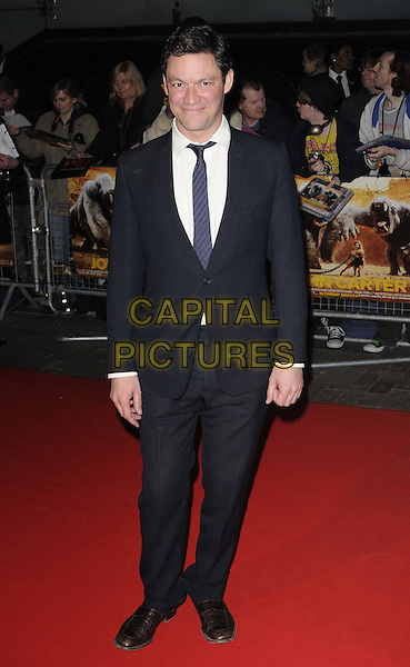 Dominic West.UK Premiere of 'John Carter' at BFI Southbank, London, England..March 1st 2012.full length white shirt black suit .CAP/CAN.©Can Nguyen/Capital Pictures.