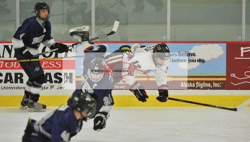 Eagle River vs. Kenai hockey Nov. 20, 2015.