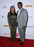 11 August  2017 - Beverly Hills, California - Tina Knowles, Richard Lawson. 17th Annual Harold & Carole Pump Foundation Gala held at The Beverly Hilton Hotel in Beverly Hills. Photo Credit: Birdie Thompson/AdMedia