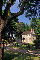 AJ2752, Valley Forge Park, Valley Forge, Pennsylvania, Washington's Headquarters in Valley Forge National Historical Park in Valley Forge in the state of Pennsylvania.
