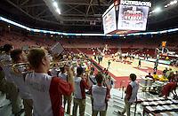 NWA Democrat-Gazette/BEN GOFF @NWABENGOFF<br /> Arkansas vs Mount St. Mary's men's basketball on Monday Nov. 28, 2016 in Bud Walton Arena in Fayetteville.