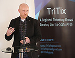 Matt Zarracina (True Tickets) during the 2019 TRITIX Forum at Arts West Building on September 19, 2019 in New York City.