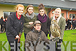 Mean Scoil an Leith Triuigh, Castlegregory students and staff enjoyed a visit from Kingdom Falconry on Friday morning. Pictured were: Yasmin Humble, Robyn Fitzgibbon, Aedammair O'Costello and Lauren Learen with XXX from Kingdom Falconry..Mean Scoil an Leith Triuigh, Castlegregory students and staff enjoyed a visit from Kingdom Falconry on Friday morning. Pictured were: Yasmin Humble, Robyn Fitzgibbon, Aedammair O'Costello and Lauren Learen with Eric Witkwski from Kingdom Falconry...