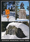 FB 387, 5x7 postcard, Donner Memorial State Park