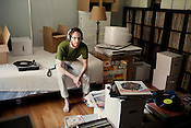 Jason Perlmutter, at his home in Durham, Monday, July 16, 2012.