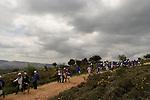 Israel, the Upper Galilee. Hiking on Mount Meron
