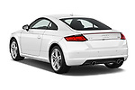 Car pictures of rear three quarter view of 2016 Audi TT-Coupe  2.0T-quattro-S-tronic 2 Door Coupe angular rear