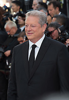 Former US Vice-President Al Gore at the 70th Anniversary Gala for the Festival de Cannes, Cannes, France. 23 May 2017<br /> Picture: Paul Smith/Featureflash/SilverHub 0208 004 5359 sales@silverhubmedia.com