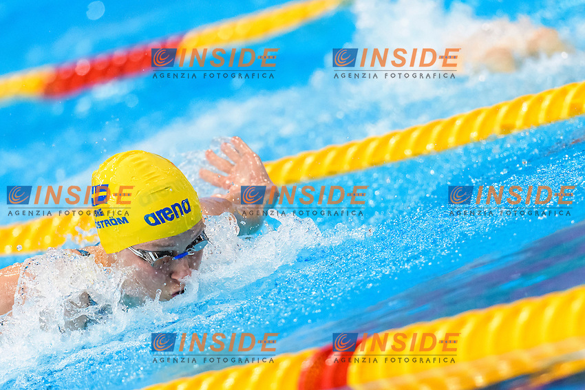 Sarah SJOESTROEM SWE <br /> 100m Butterfly Women Preliminary<br /> London, Queen Elizabeth II Olympic Park Pool <br /> LEN 2016 European Aquatics Elite Championships <br /> Swimming<br /> Day 11 19-05-2016<br /> Photo Andrea Staccioli/Deepbluemedia/Insidefoto