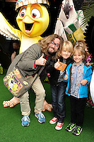 Justin Lee Collins<br /> arives for the &quot;Rio 2&quot; Screening at the Vue cinema Leicester Square, London. 30/03/2014 Picture by: Steve Vas / Featureflash