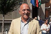 Luigi Angeletti<br /> Roma 29-09-2014 Sede della CISL. Incontro tra i sindacati sulla riforma del Lavoro<br /> Photo Samantha Zucchi Insidefoto