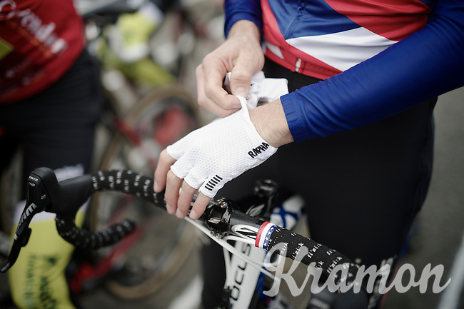 gloves for  Jeremy Powers (USA/Rapha-Focus)<br /> <br /> Koksijde CX World Cup 2014