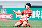 Jeju United Forward Jin Seonguk celebrating his goal during the AFC Champions League 2017 Round of 16 match between Jeju United FC (KOR) vs Urawa Red Diamonds (JPN) at the Jeju Sports Complex on 24 May 2017 in Jeju, South Korea. Photo by Yu Chun Christopher Wong / Power Sport Images