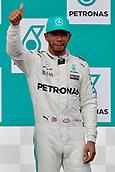 1st October 2017, Sepang, Malaysia;  FIA Formula One World Championship, Grand Prix of Malaysia; Lewis Hamilton (GB 44), Mercedes AMG Petronas