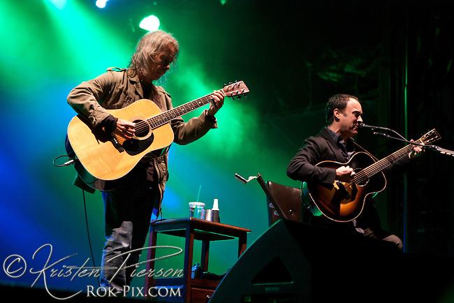 Dave Matthews & Tim Reynolds perform at the Life is Good Festival on September 23, 2012 in Canton, Massachusetts © Kristen Pierson
