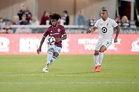 Commerce City, C) - Saturday, June 8, 2019: The Colorado Rapids win against Minnesota United FC 1 - 0 to extend unbeaten streak to 5 games
