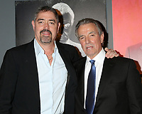 LOS ANGELES - FEB 7:  Christian Gudegast and Eric Braeden at the Eric Braeden 40th Anniversary Celebration on The Young and The Restless at the Television City on February 7, 2020 in Los Angeles, CA