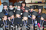 9709-9710.Pre-School's Out - Having a great time at the Heaven Sent Pre-School, Farmer's Bridge graduation on Saturday morning were front l/r Ciara Foley, Rebecca O'Sullivan, Eimear Murphy, Katie Ross, Amy Kerins and Aimee Griffin, back l/r Armin Heindrick, Jack Morriarty, Darragh Sweeney, David Morriarty, Cormac Grey, Darragh Murphy and Leah Edwards with teacher Greta Quirke at the back, missing from the photo are Sydney Fitzgerald, Moira Griffin Mikie McCarthy..   Copyright Kerry's Eye 2008
