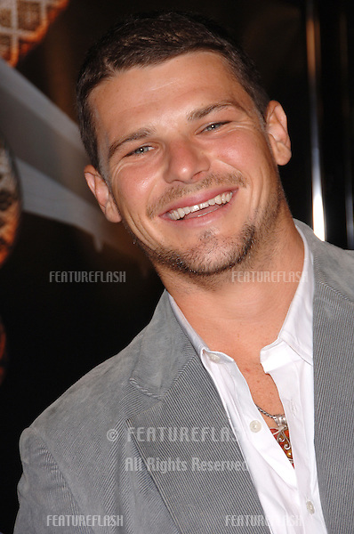 """Actor NATHAN PHILLIPS at the Los Angeles premiere of his new movie """"Snakes on a Plane"""" at the Chinese Theatre, Hollywood..August 17, 2006  Los Angeles, CA.© 2006 Paul Smith / Featureflash"""