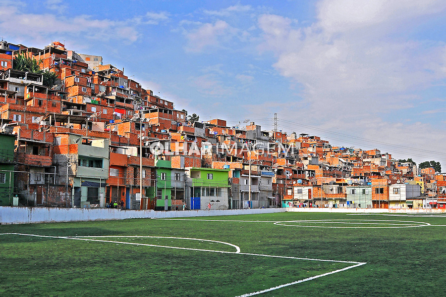 Casas na Favela da Erundina. São Paulo. 2014. Foto de Marcia Minillo.