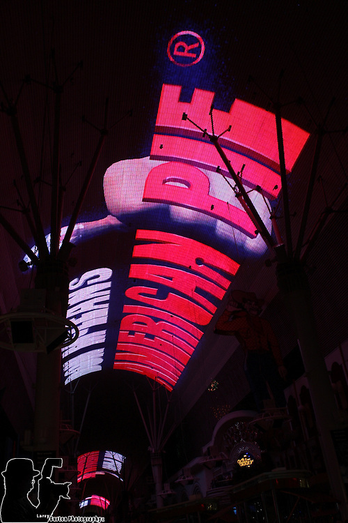 Fremont Street Experience, Private party for Ensemble Travel group