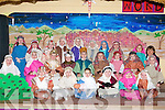 NAVITY: Playing their part in the Scare Crow Christmas Navity play were pupils from junior infants in Glenderry National School on Friday...........   Copyright Kerry's Eye 2008