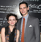 Reyna de Courcy & Cory Michael Smith attending the Opening Night Performance After Party for 'The Whale' at West Bank Cafe in New York City on 11/05/2012